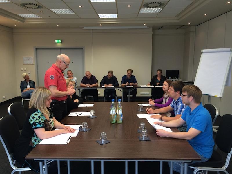Meleghy International Training Verhandlungsgespräche