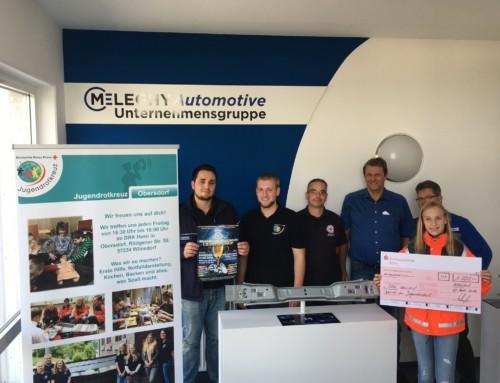Zukunft mit uns – Spende an das Jugendrotkreuz Obersdorf