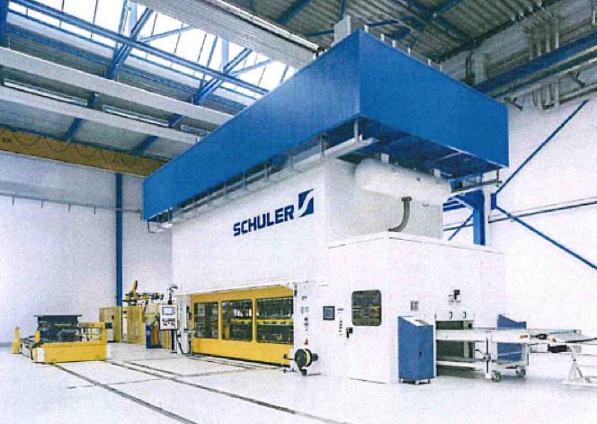 Werk Wilnsdorf investiert in neue Pressentechnik