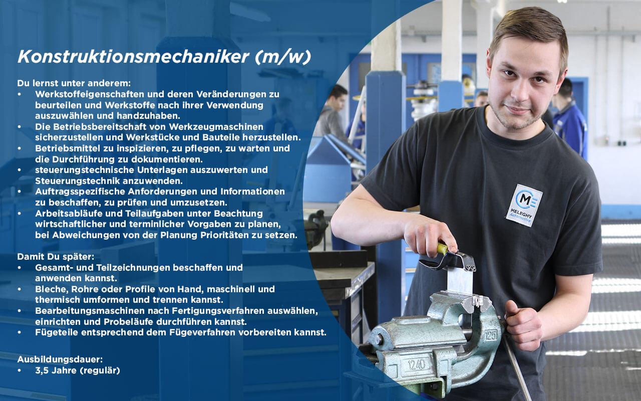 Konstruktionsmechaniker (m/w)