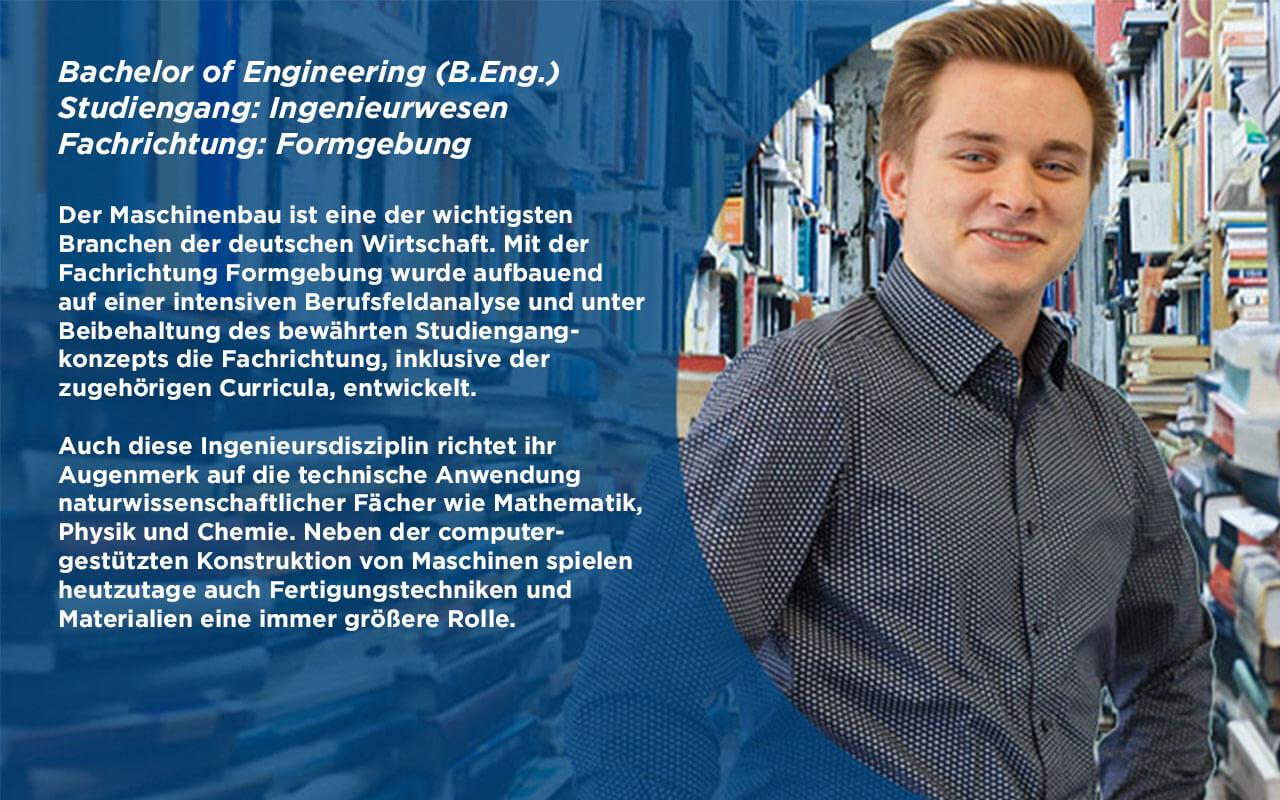 B.Eng. Ingenieurwesen Formgebung