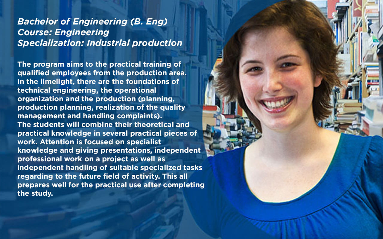 Bachelor of Engineering (B.Eng.) Course: Engineering