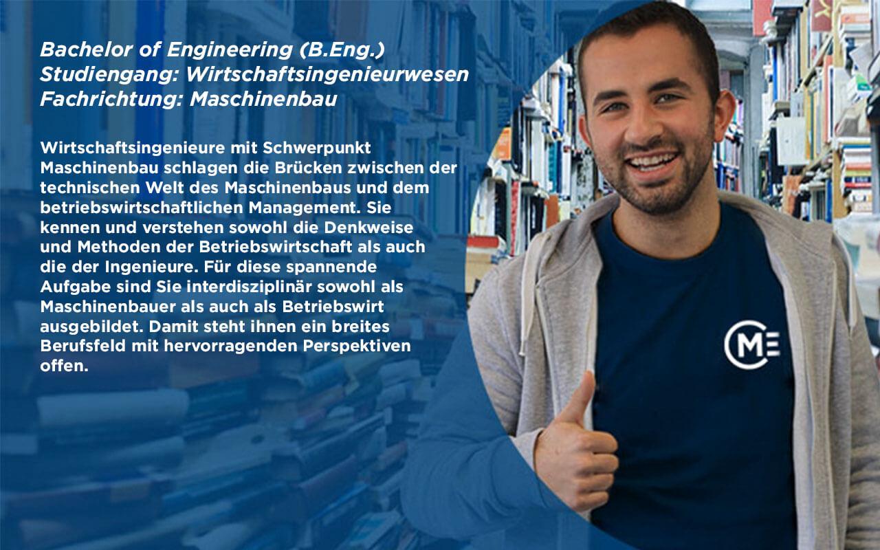 B.Eng. Wirtschaftsingenieurwesen Maschinenbau