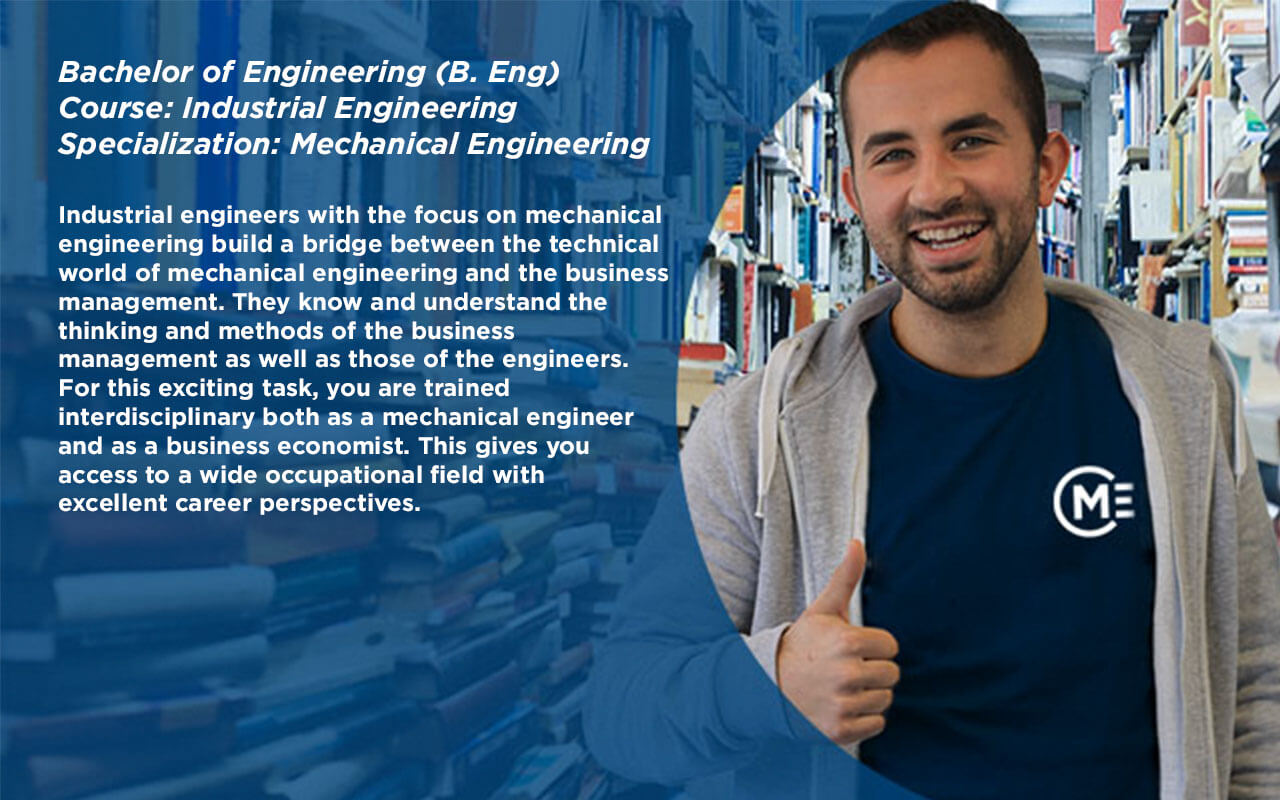 Bachelor of Engineering (B.Eng.) Course: Industrial Engineering