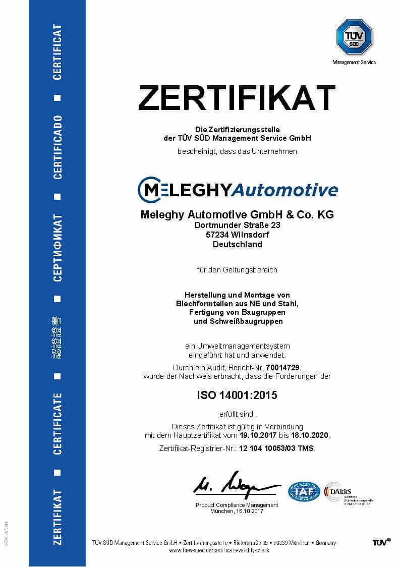 Meleghy Automotive WilnsdorfISO 14001_de