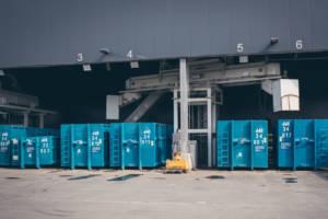 Meleghy Automotive Gera Schrottanlage Gepe-Technik Anlage außen