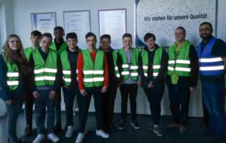 Meleghy Automotive Realschule Hauptschule Wilnsdorf zu Besuch