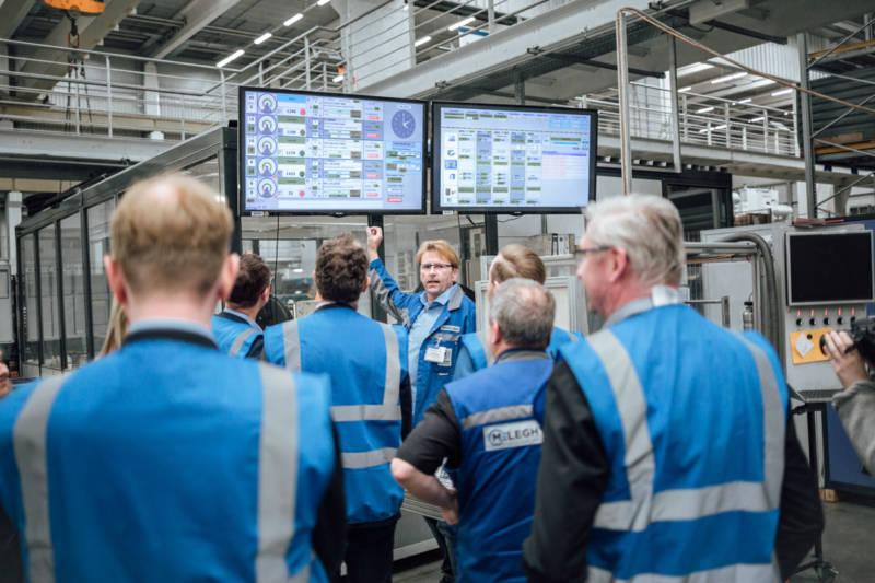 """Meleghy Automotive Gera Digitalisierungsworkshop """"Visualisierung"""" Automotive Thüringen"""