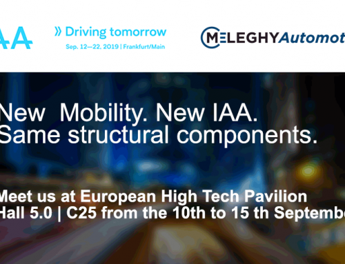 IAA 2019: Meleghy Automotive at the European High Tech Pavilion
