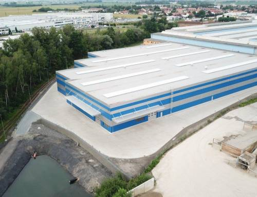 New hall for Meleghy Automotive Brandýs