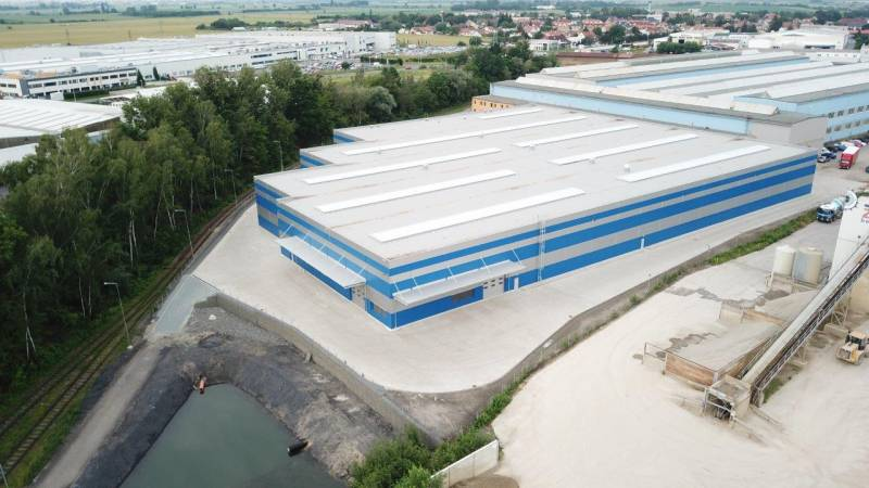 Meleghy Automotive Czech New Plant