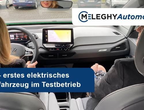 Elektromobilität kehrt auch bei Meleghy Automotive ein